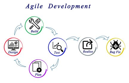 web application development, agile development style